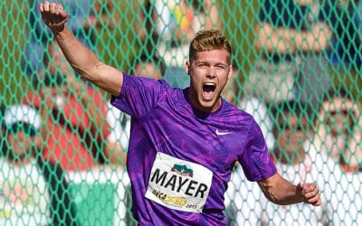 Kevin Mayer at the Decastar !