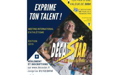 Concours Affiche Décastar 2019