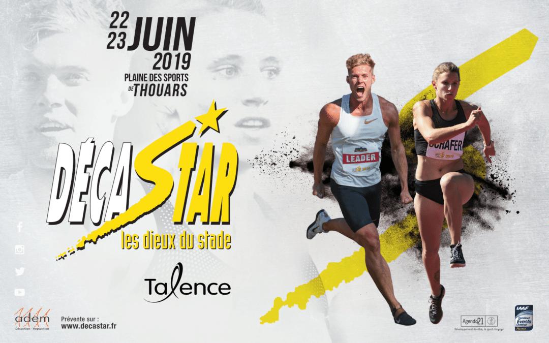 Concours : l'affiche du Décastar 2019 dévoilée !
